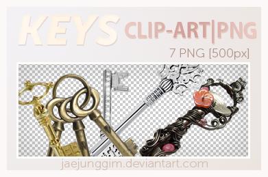 JJ's PNG 1 - Keys by enhancers