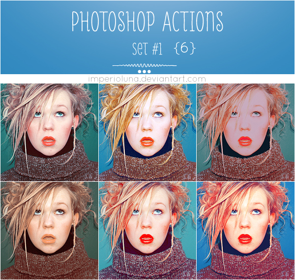 Photoshop Actions 1 by enhancers