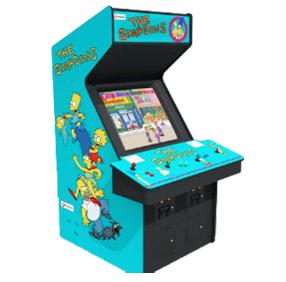 The Simpsons Arcade Icon by FistfulOfYoshi on DeviantArt