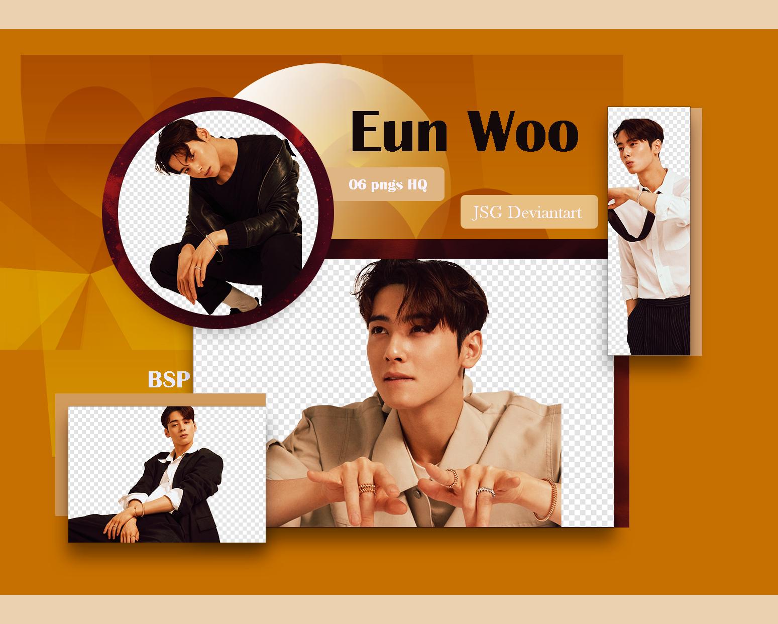 Eun Woo (ASTRO) Pack PNG 2