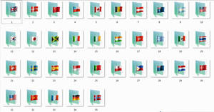 Flags Folder Icons