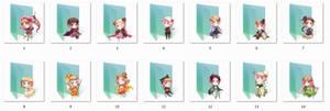 Cardverse Hetalia Folder Icons
