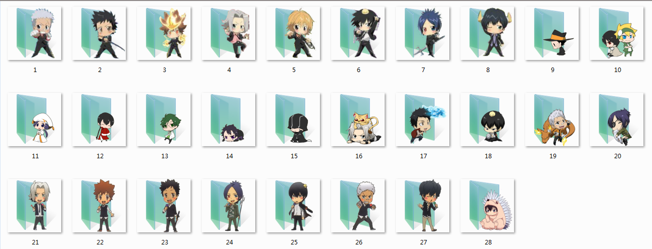 KHR folder icons by Ginokami6