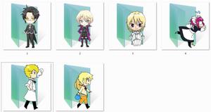 Black Butler Folder Icons