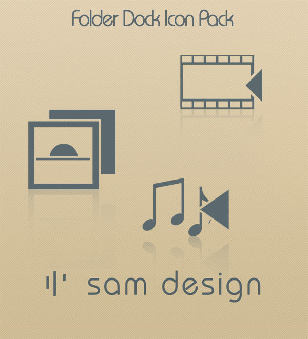 sam design - folders by The-Golden-Brown