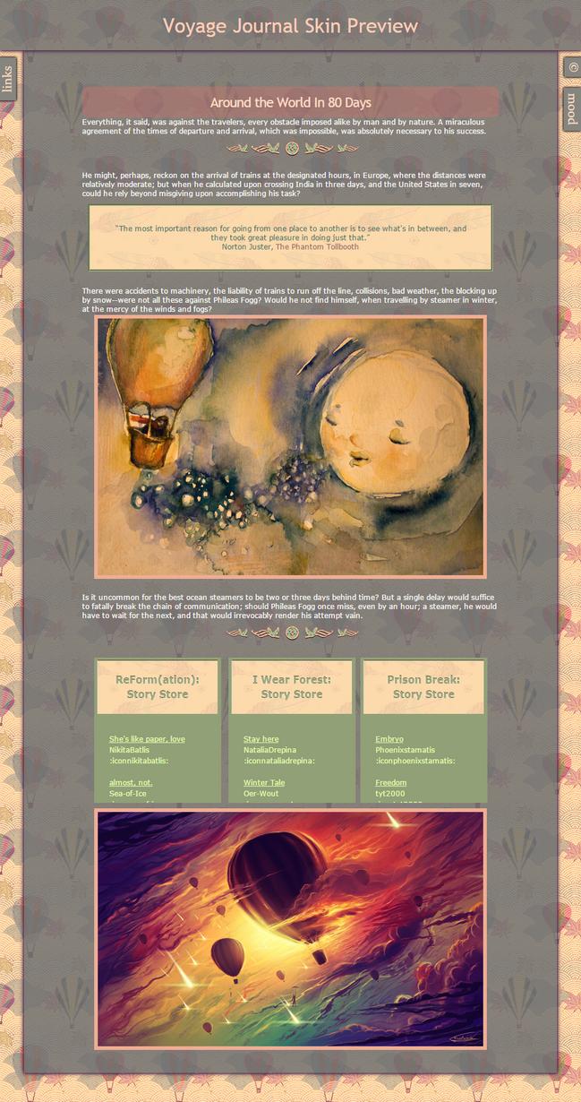 Voyage Journal Skin by MelikeBAt