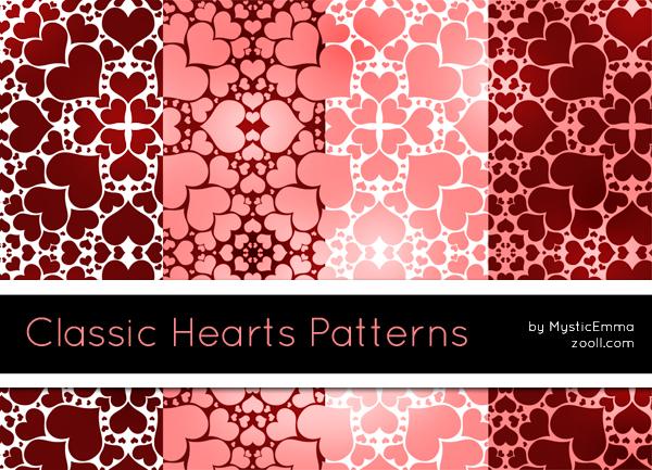Hearts Photoshop Patterns By Romenig Deviantart – Migliori Pagine da