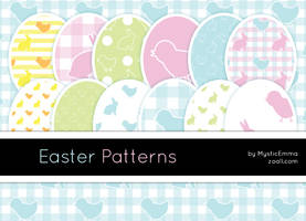 Easter Patterns by MysticEmma