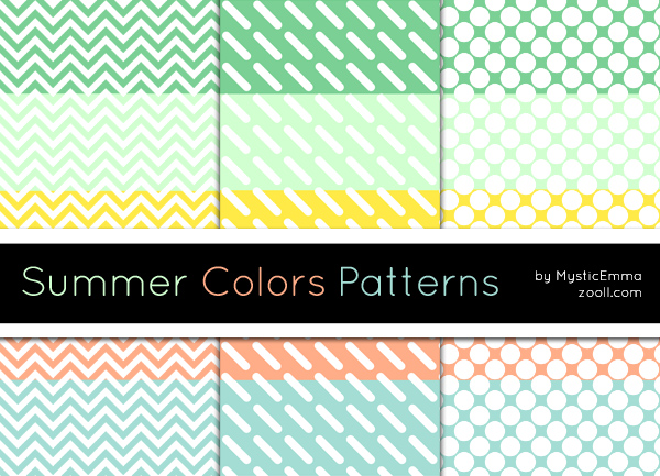 Summer Colors Patterns