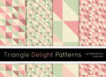 Triangle Delight Patterns