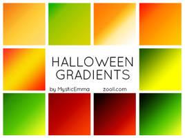 Halloween Gradients by MysticEmma
