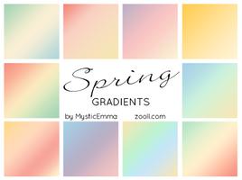 Spring Gradients by MysticEmma