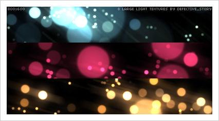 8 large light textures