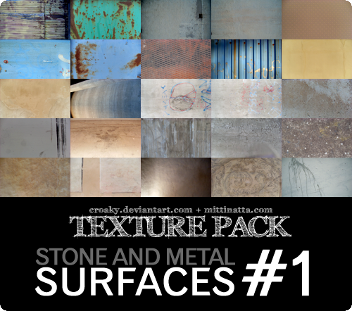 FREE FLAT SURFACE TEXTURES 1 by croaky