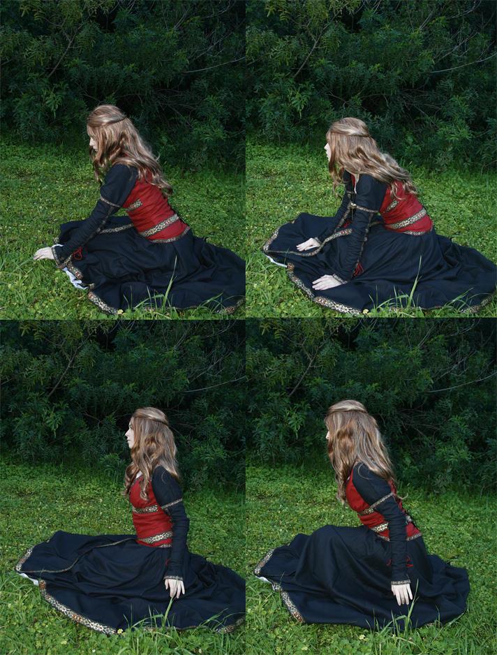Sitting Princess2 by faestock