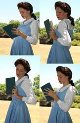 Belle portrait11 by faestock
