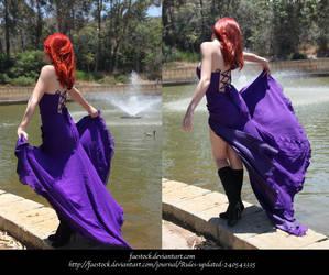 Violet by faestock