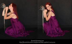 Purple Heart 2 by faestock