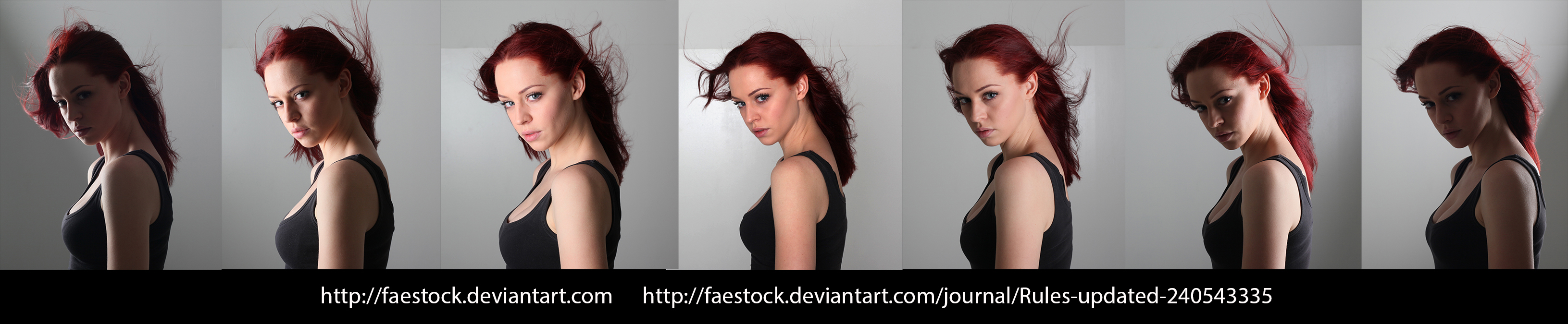 Face lighting reference 9 by faestock