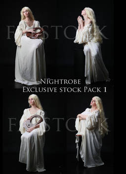 Nightgown Exclusive Stock Pack 1 by faestock