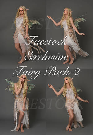 exclusive fairy stock pack 2 by faestock