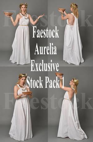 Aurelia  - Exclusive Stock Pack 1 by faestock
