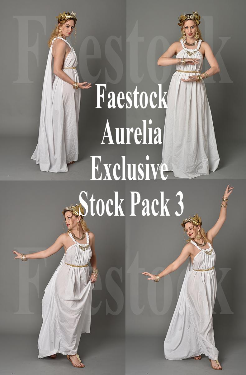 Aurelia  - Exclusive Stock Pack 3 by faestock