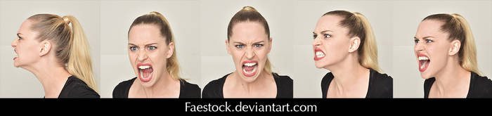 Expressions - Stock Pack 1 by faestock