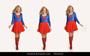 Supergirl  - Stock model reference pack 7 by faestock