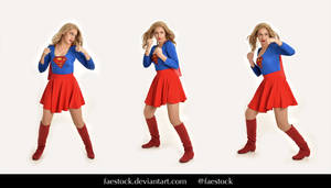 Supergirl  - Stock model reference pack 12 by faestock