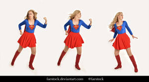 Supergirl  - Stock model reference pack 18 by faestock