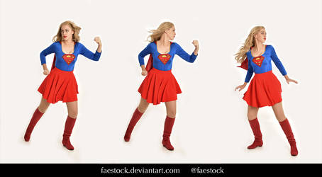 Supergirl  - Stock model reference pack 18