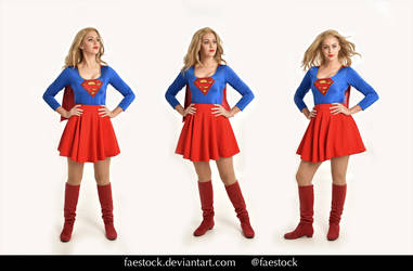 Supergirl  - Stock model reference pack  32