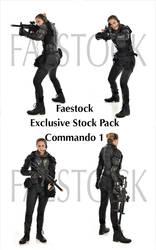 Commando - Exclusive Stock Pack 1 by faestock