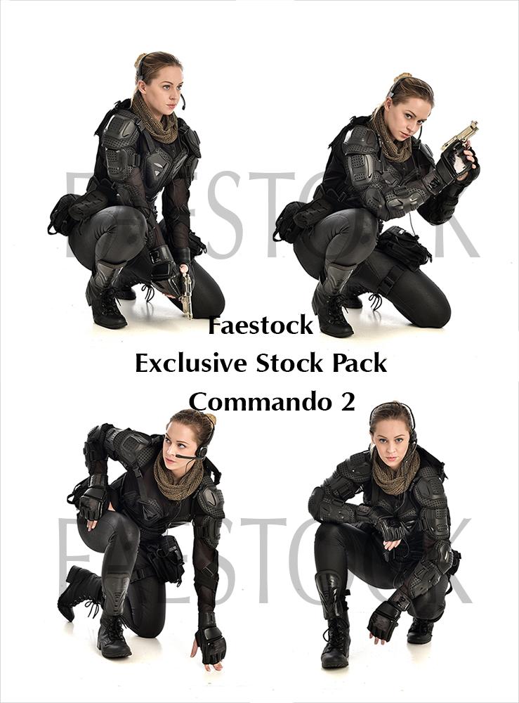 Commando  - Exclusive Stock Pack 2 by faestock