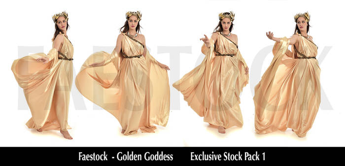 Golden Goddess   - Exclusive Stock Pack 1