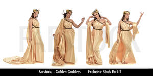 Golden Goddess   - Exclusive Stock Pack  2