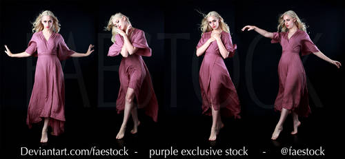 Purple Exclusive stock pack