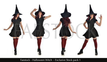 Halloween Witch - Exclusive Stock Pack