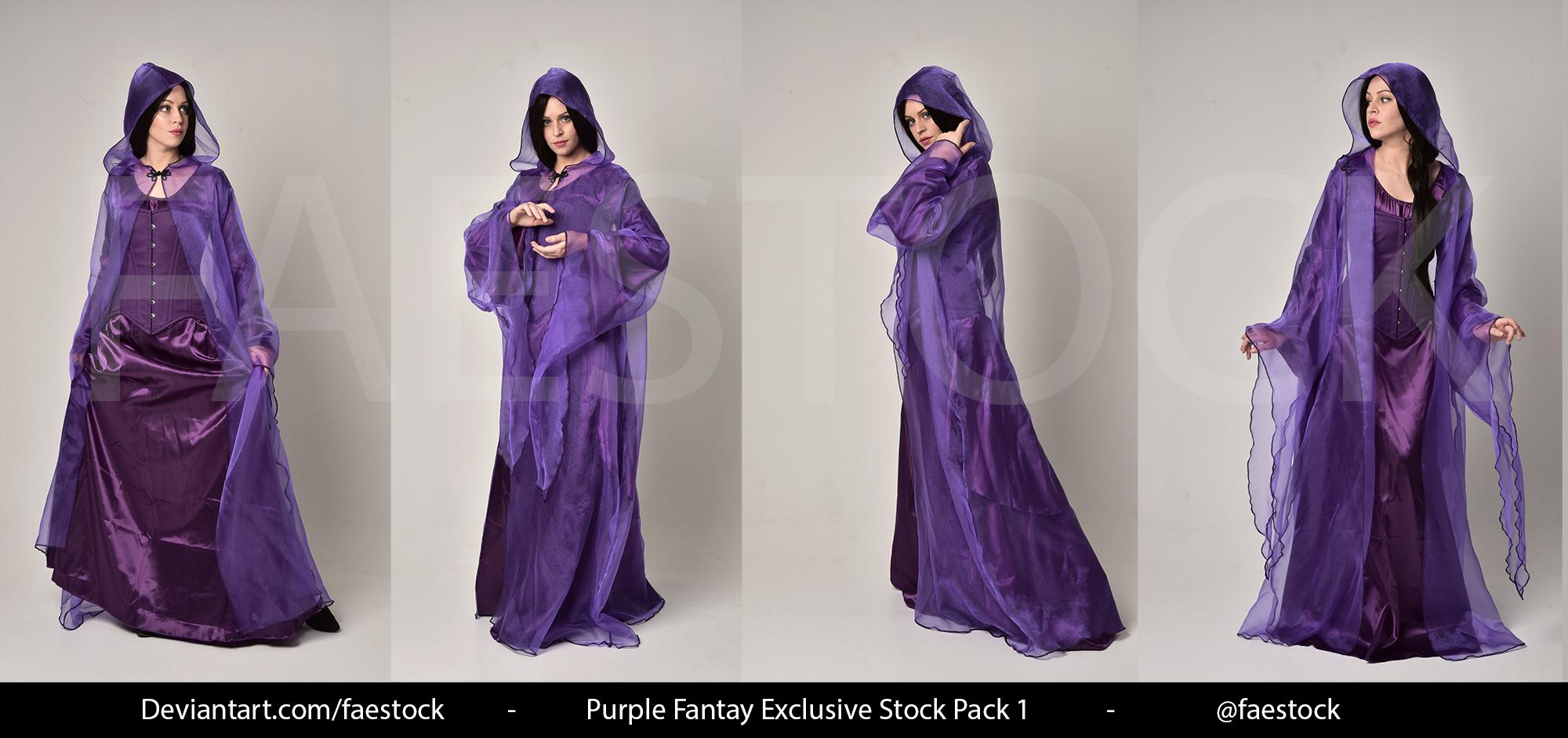 Purple Fantasy  -   Exclusive Model Stock 1