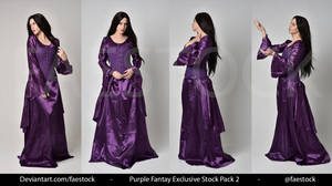 Purple Fantasy  -   Exclusive Model Stock 2