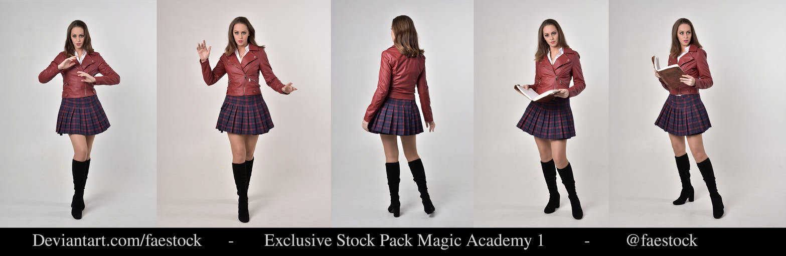 Exclusive Magic. Academy Stock Pack1 by faestock