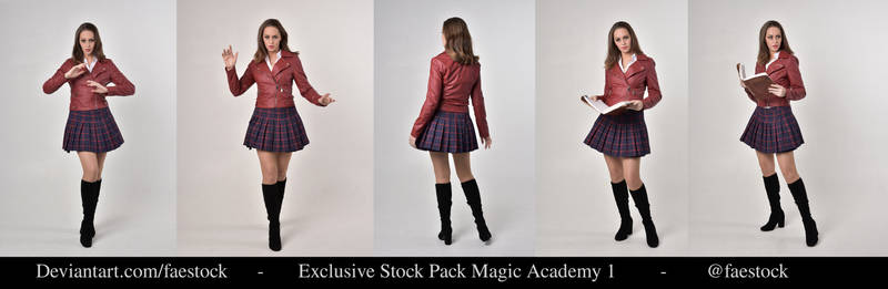 Exclusive Magic. Academy Stock Pack1
