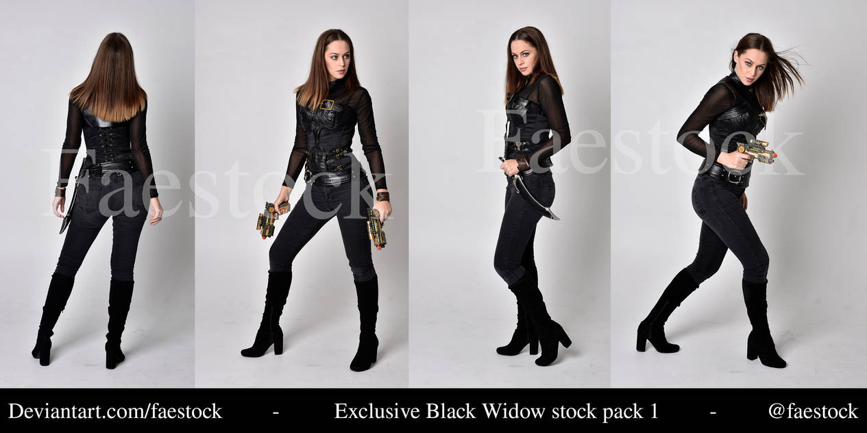 Manon -   Exclusive Warrior Stock Pack 2 by faestock