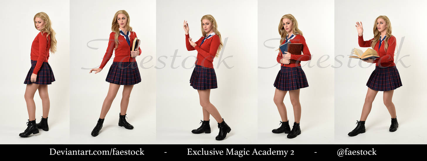 Exclusive Magic Academy Stock Pack 3 by faestock