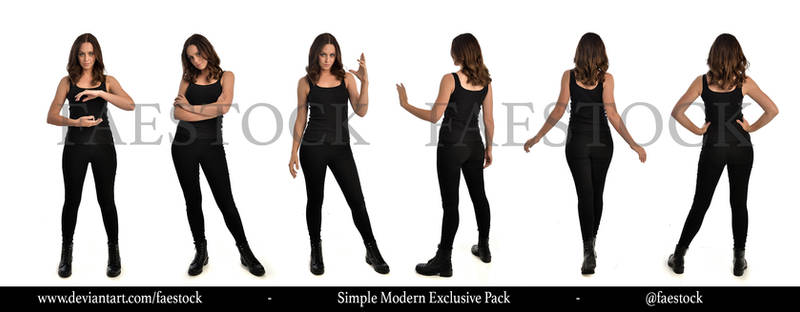 Exclusive Stock Pack -   Simple Modern