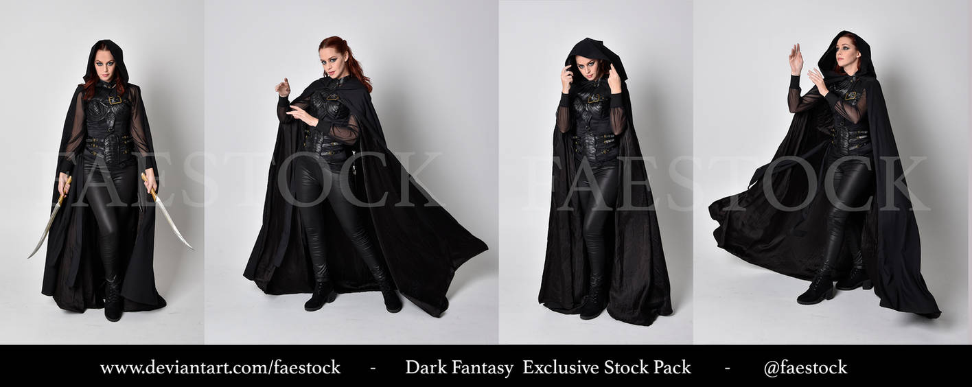 Exclusive Stock Pack -  Dark fantasy 1 by faestock