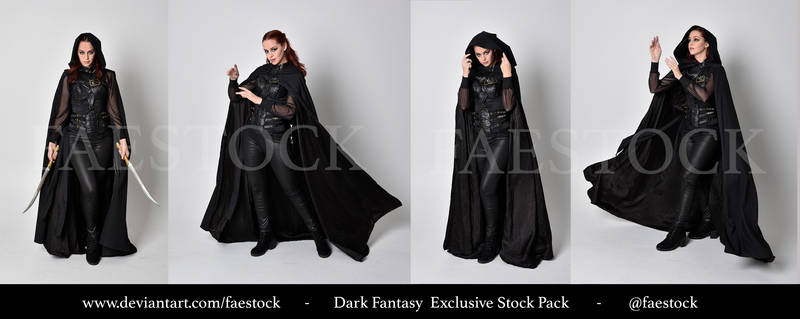 Exclusive Stock Pack -  Dark fantasy 1