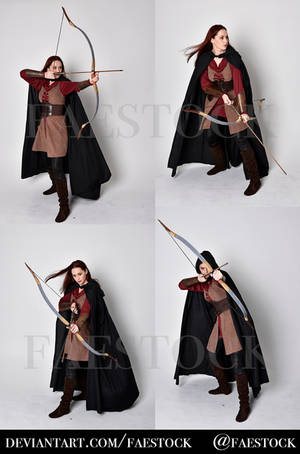 Exclusive Stock Pack - Archery by faestock