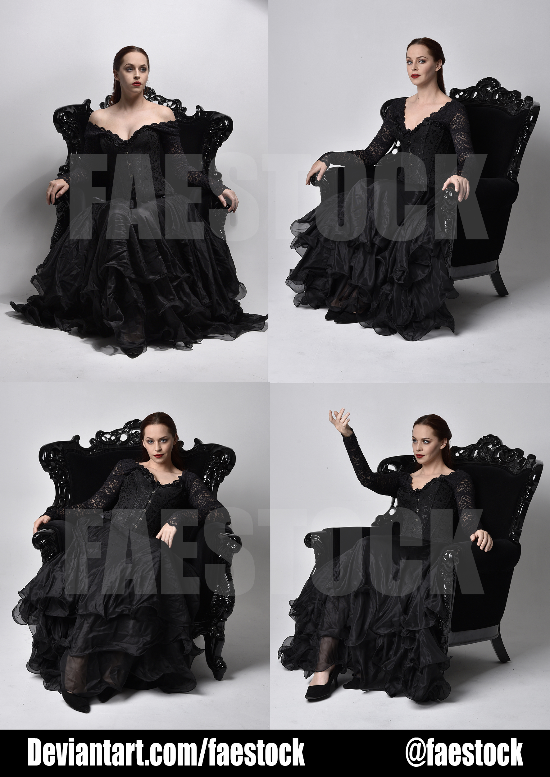 Exclusive Stock Pack -  Gothic Chair